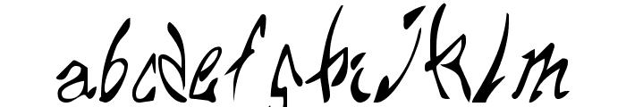 Chupa10 Font LOWERCASE