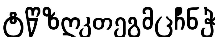 Chveulebrivy-ITV Bold Font LOWERCASE