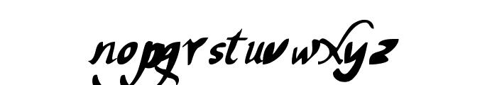 chancelaresca pw Font LOWERCASE
