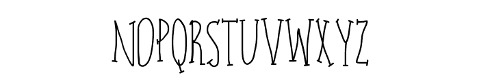 charlie Font LOWERCASE