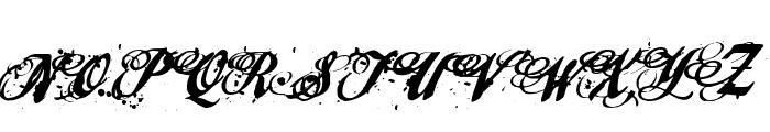 cherry jam Font UPPERCASE