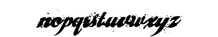 cherry jam Font LOWERCASE