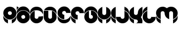 chewedkandi Font UPPERCASE