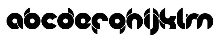 chewedkandi Font LOWERCASE