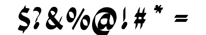 chiselscript Font OTHER CHARS