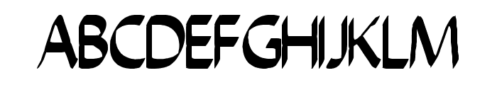 chiselscript Font UPPERCASE