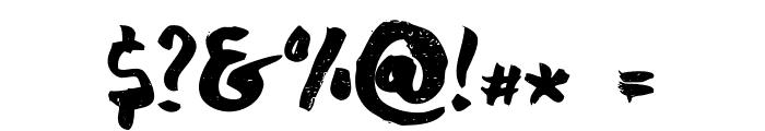 chocoleta Font OTHER CHARS