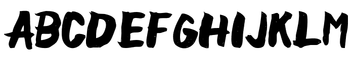 chocoleta Font UPPERCASE