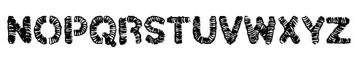 christelLine black Font UPPERCASE