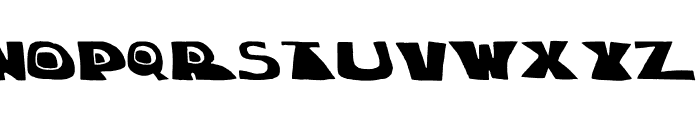 chuck-shadow Font LOWERCASE