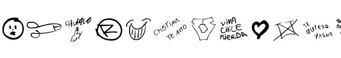 chupalo Font UPPERCASE