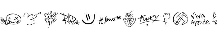 chupalo Font LOWERCASE