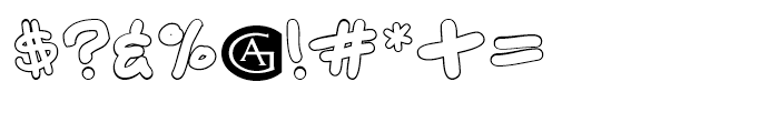 Chalk Outlines Font OTHER CHARS
