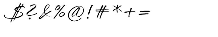 Challenger Regular Font OTHER CHARS