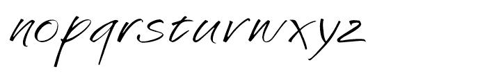 Challenger Regular Font LOWERCASE