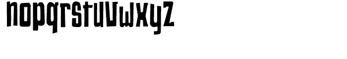 Changing Regular Font LOWERCASE