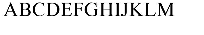 Chaplin Medium Font UPPERCASE