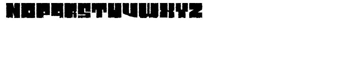 Characteristic Regular Font UPPERCASE