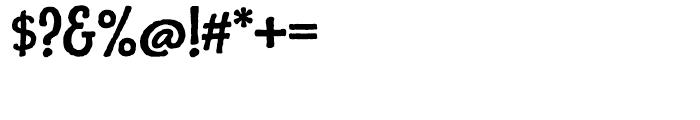 Charcuterie Sans Bold Font OTHER CHARS