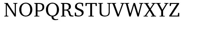 Charter BT Roman Font UPPERCASE