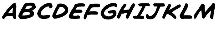 Chatterbox Intl Italic Font UPPERCASE