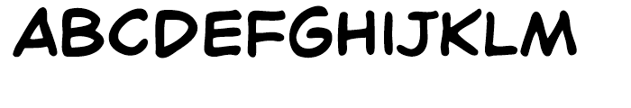 Chatterbox Intl Regular Font LOWERCASE