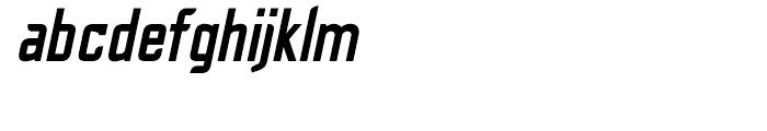 Cheek PT Bold Oblique Font LOWERCASE