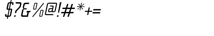 Cheek PT Regular Oblique Font OTHER CHARS
