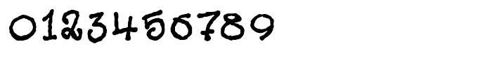 Cheeky Git Regular Font OTHER CHARS