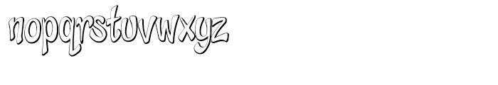 Cheeky Monkey Open Font LOWERCASE