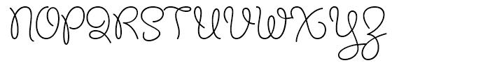 Chelly FY Regular Font UPPERCASE