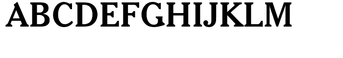 Cheltenham Bold Headline Font UPPERCASE