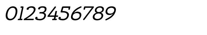 Chennai Slab Oblique Font OTHER CHARS