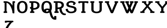 Cherritt Black Font UPPERCASE