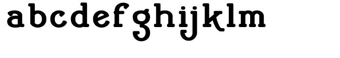 Cherritt Black Font LOWERCASE