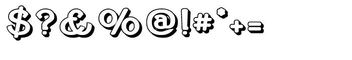 Cherritt Openface Regular Font OTHER CHARS