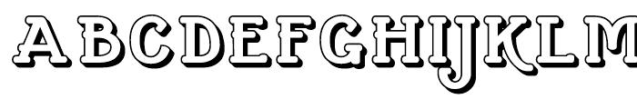 Cherritt SC Openface Regular Font UPPERCASE