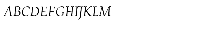 Chicory Regular Font UPPERCASE