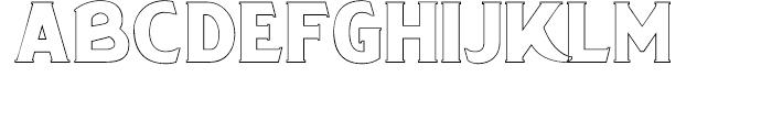 Chipperly Light Font UPPERCASE