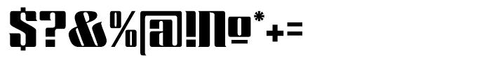 Chopper Regular Font OTHER CHARS