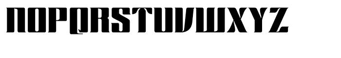 Chopper Regular Font UPPERCASE