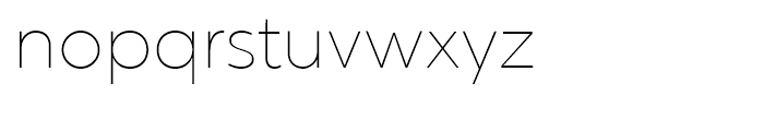 Chronica Thin Font LOWERCASE