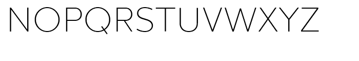 Chronica Ultra Light Font UPPERCASE
