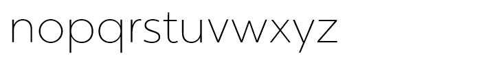 Chronica Ultra Light Font LOWERCASE