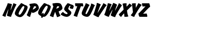 Churchward Brush Regular Italic D Font UPPERCASE