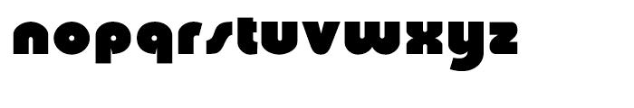 Churchward Ultra Bold Regular Font LOWERCASE
