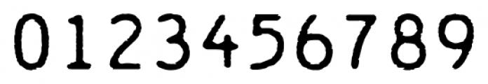 Chainprinter Regular Font OTHER CHARS