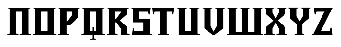 Chalice Black Regular Font UPPERCASE