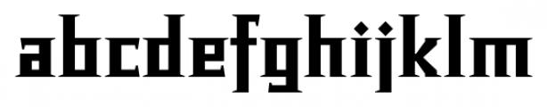 Chalice Black Regular Font LOWERCASE