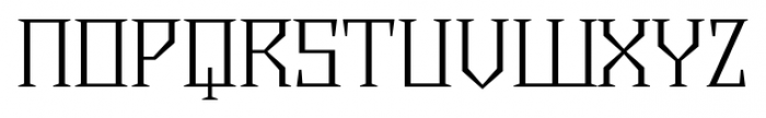 Chalice Light Regular Font UPPERCASE